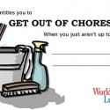 Get Out Of Chores For Free by David Leigh