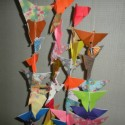 Butterfly Curtains by JoAnn Abbott and Friends